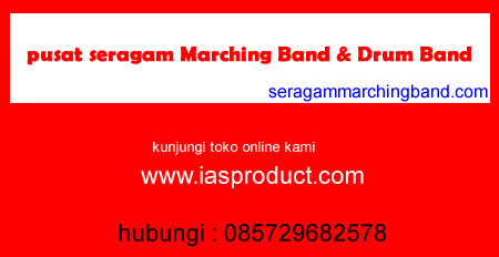 pusat seragam marching band drum band